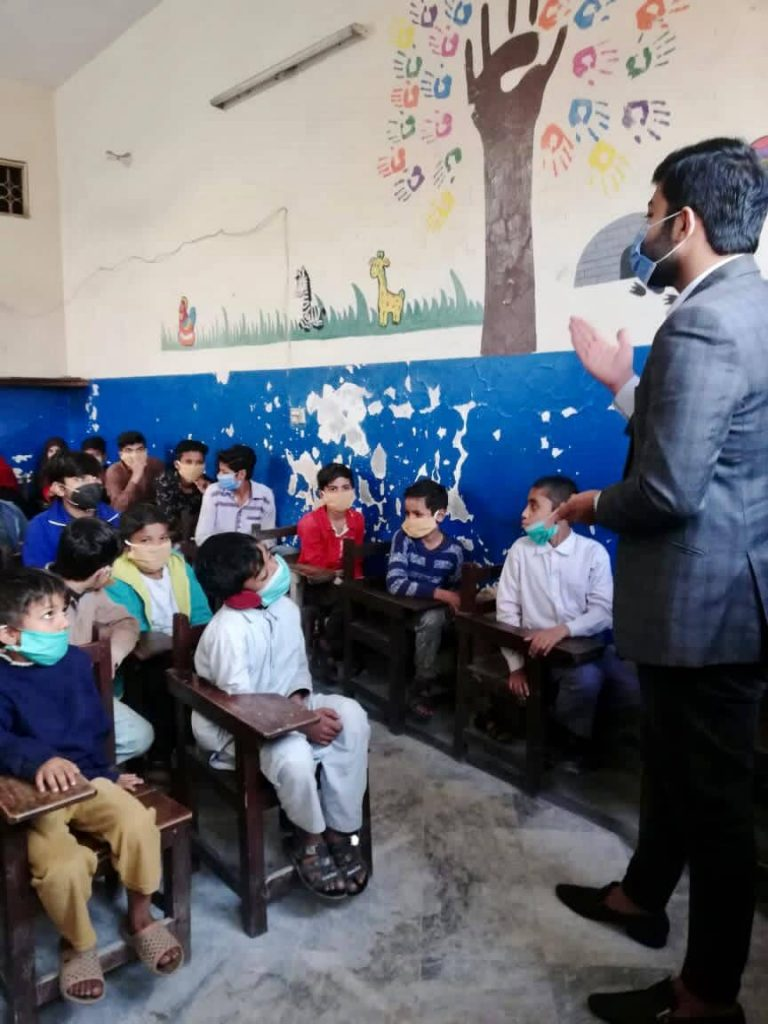 Education Project at Child Protection Centre