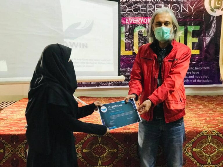 Award Ceremony for Volunteers