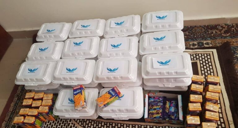 Iftar Boxes in a Medical Unit